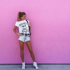 @sjanaelise wears our  cochella heels in white. ☀️ Free express worldwide shipping • www.beaucoops.com  #beaucoops #sjanaelise