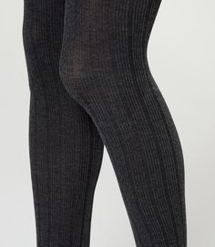 Thumbnail Image of Color Swatch 6923 Image of Woolly Ribbed Tights sz l