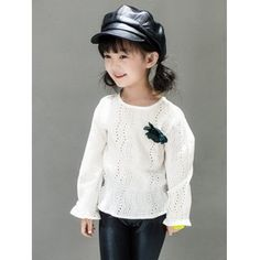 Kids Hollow Out Blouse #shoes, #jewelry, #women, #men, #hats, #watches