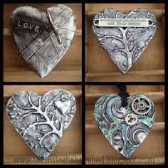 Fab tute from Kaz Hall on using your Ranger Melt Art Melting Pot + UTEE  The Little Shabby Shed