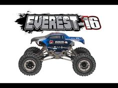 EVEREST-16 1/16 SCALE ROCK CRAWLER RED – OMGRC