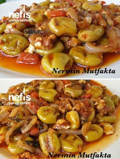 Kahvaltılık Soslu Zeytin – Nefis Yemek Tarifleri – – Vegan yemek tarifleri – The Most Practical and Easy Recipes Seafood Recipes, Cooking Recipes, Turkish Recipes, Ethnic Recipes, Comfort Food, Olives, Breakfast Recipes, Food And Drink, Yummy Food