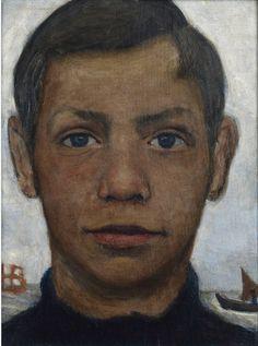 brother of P.M.B. by Paula modersohn-becker 1902