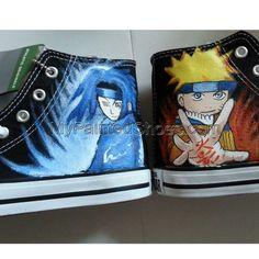 Anime shoes naruto shoes Gaara Uzumaki naruto custom shoes narut Custom Vans Shoes, Custom Sneakers, Naruto Shoes, Stan Smith Shoes, Flower Shoes, Rhinestone Heels, Glitter Heels, Vans Slip On, Nike Air Force Ones