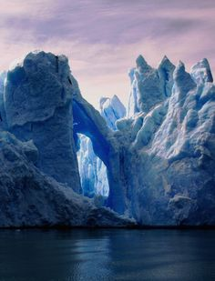 Glacier Grey in Parque Nacional Torres del Paine, Chile (By rhalvo).