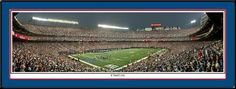 New York Giants opening night 2008 NFL SeasonSeptember 4, 2008 panoramic photograph New York Giants vs. Washington Redskins