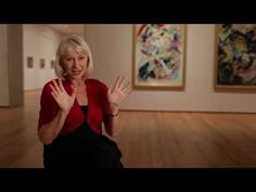 Helen Mirren on Vasily Kandinsky, spending some quality time w/a painting, and that her dad was a cab driver (like mine)!! <3!