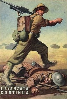 Fascist propaganda poster WWII - pin by Paolo Marzioli Ww2 Propaganda Posters, Political Posters, Foto Sport, Italian Army, Roman History, Aviation Art, Military Art, Cool Posters, World War Two