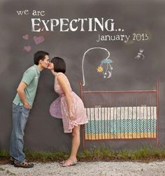 LOVE this baby announcement!