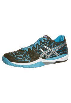 info for c2959 102e2 ASICS - GEL-FIREBLAST - Handball shoes - black Volleyball Shoes, Black  Lightning,