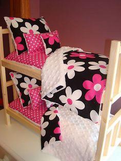 15 OFF SALE 10Piece Bunk Bed Bedding Set by LilMavenDollBoutique, $42.49