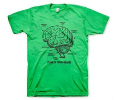 """""""This is your brain."""" Use it."""