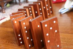 Yard Dominoes Tutorial by ChiWei @ One Dog Woof