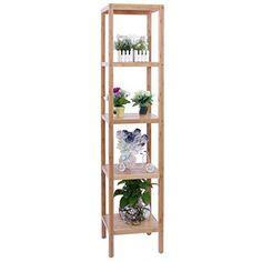 Songmics 5 Tier bamboo bathroom shelf rack Stand Bookcase 146cm BCB55Y, http://www.amazon.co.uk/dp/B00KNKKSKY/ref=cm_sw_r_pi_awdl_w.D3tb0X3PYVA