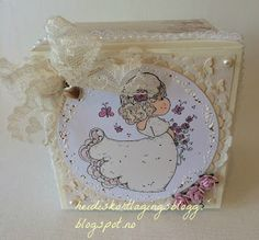 Heidis kortlagingsblogg: Bryllups boks Magnolia, Decorative Boxes, Design, Home Decor, Homemade Home Decor, Design Comics, Decoration Home, Decorative Storage Boxes