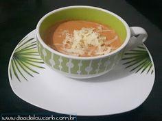 Como assim? uma pessoa que não é fã de tomate fazendo uma sopa de tomate? e ficou fantástico. Essa foi uma das sopas que me fizeram adorar o tomate!