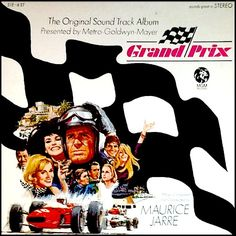 """""""Grand Prix"""" (1967, MGM).  Music from the movie soundtrack."""