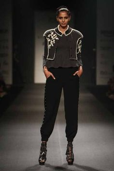 DAY 2, Amazon India Fashion Week'17: Vineet Bahl's CODE for a confident woman