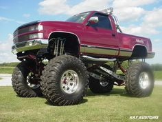 Only a faggot would buy a four-wheel-drive Chevy and not take into the mud.