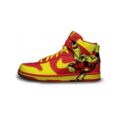outlet store 0c30a 63deb Marvel Comics Nike SB Iron Man Dunks via Polyvore Cheap Nike, Nike Shoes  Cheap,