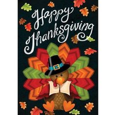 Thanksgiving Polyester Turkey Welcome Flag Garden Holiday Decoration Happy Thanksgiving Wallpaper, Happy Thanksgiving Turkey, Thanksgiving Background, Thanksgiving Pictures, Thanksgiving Blessings, Thanksgiving Greetings, Holiday Wallpaper, Holiday Pictures, Thanksgiving Crafts
