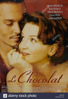 Download this stock image: Chocolat - DXG1N4 from Alamy's library of millions of high resolution stock photos, illustrations and vectors: pin 27. Lena Olin, Alfred Molina, Juliette Binoche, Judi Dench, Live News, Johnny Depp, Vectors, Films, Actresses