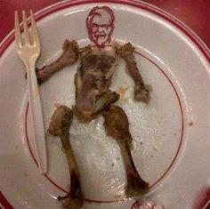You just can't beat a KFC hahaha......