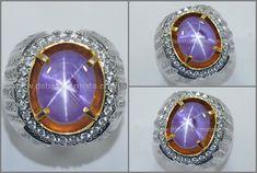 Natural No Heat Sharp Star Purple SAFIR Sri Lanka - SPS 235