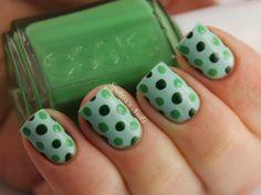 12 Diseños de Uñas de color Verde - Mujer y Estilo