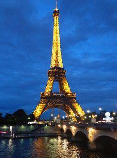Paris. #Eiffel #Travel #Light #Romantic