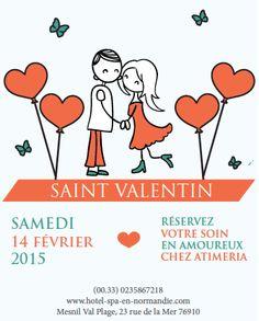 La Saint-Valentin est l'occasion de passer une belle journée en amoureux. #spa #detente #saintvalentin #normandie #normandy #hotel