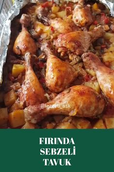 Fırında Sebzeli Tavuk Pasta, Chicken, Meat, Recipes, Food, Drink, Beverage, Recipies, Essen