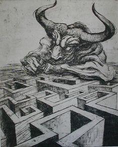 El laberinto de Minotauro.