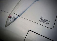 1966 Corvette Stingray Hood and Emblem by RetroRoadsidePhoto