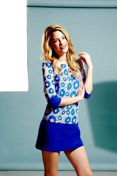 Floral Block Tunic Dress £119