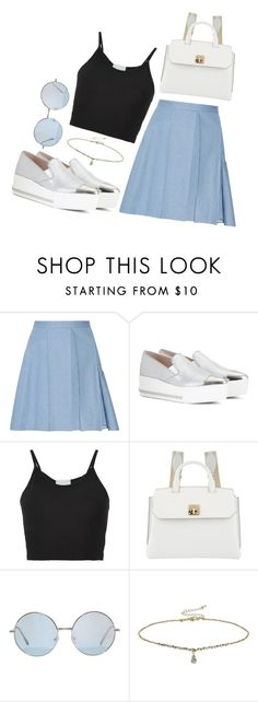 """otd #188"" by wilczek ❤ liked on Polyvore featuring Julien David, Miu Miu, Lost & Found, MCM and Miss Selfridge"