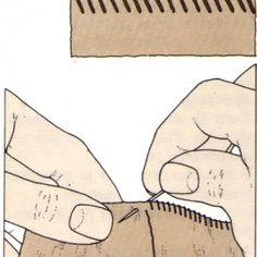 Costura a mano, Sobrehilado