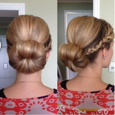 Low sock bun