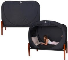 Privacy Pop Bed Tent http://www.lovedesigncreate.com/privacy-pop-bed-tent/