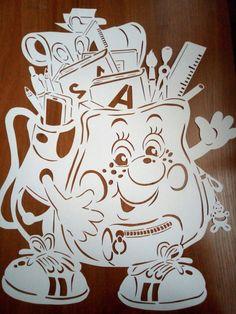 Вытынанки от Елены на заказ   OK.RU Diy And Crafts, Crafts For Kids, Arts And Crafts, Paper Crafts, Big Bird Sesame Street, Paper Stars, Kirigami, Adult Coloring Pages, Christmas Art