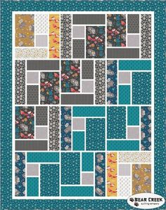 Mama and Me - Whimsical Free Quilt Pattern by Camelot Fabrics