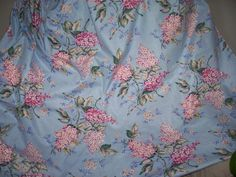 Vintage Lilac Shabby Chic  Fabric  HUGE by trufflepigtreasures, $12.00