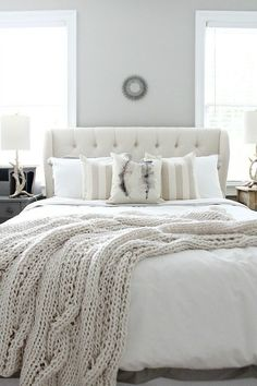 Create a guest bedroom that makes your houseguests feel right at home! Check out our inspiring rooms that include cozy and welcoming colors along with other rooms that include bright and cheerful colors. Check out wall colors, bedroom furniture and duvets and blankets to complete your guest bedroom.