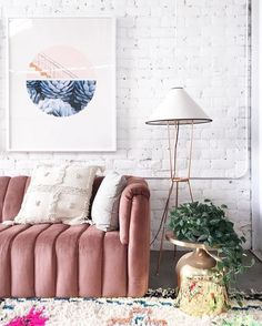 9 Georgeous pink sofas you will be smitten with