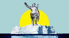 Rome's economic activity appears in lead deposited in Greenland's ice.
