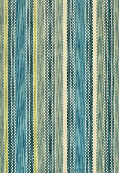 For spindly chairs that Alberto has?  Fabric | Romanesque Velvet Stripe in Sky | Schumacher