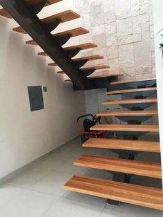 Steel Stairs Design, Metal Stairs, Modern Staircase, Spiral Staircase, Modern Interior, Interior Design, Home Remodeling, Architecture Design, House Plans