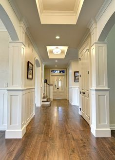 Great wide plank floor. Like this look? www.CooperHomesin... can do this for you if you are in the Metro-Atlanta area!