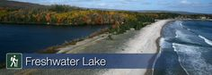 Learn more about Freshwater Lake trail in Cape Breton Highlands National Park Parks Canada, Cape Breton, Nova Scotia, Highlands, East Coast, Fresh Water, Trail, National Parks, Road Trip