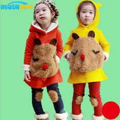 2014 Korean  suit children in children autumn two-piece suit fleece sweater